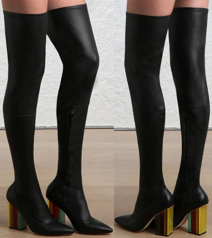 Zimmermann stretch thigh boots