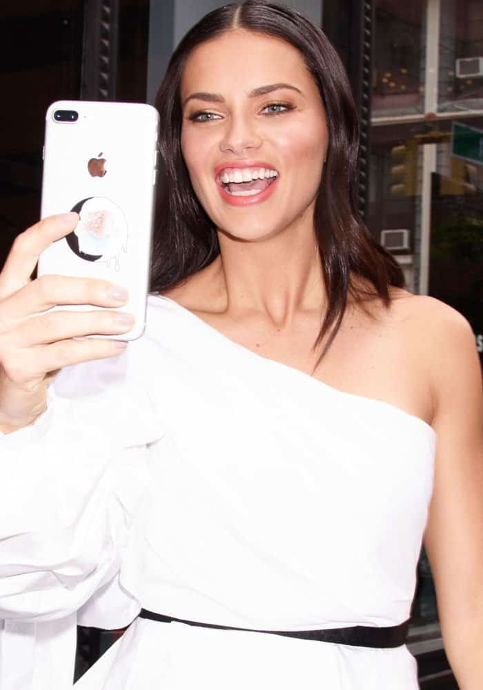 Adriana Limaat the AOL Building in New York on September 21, 2017