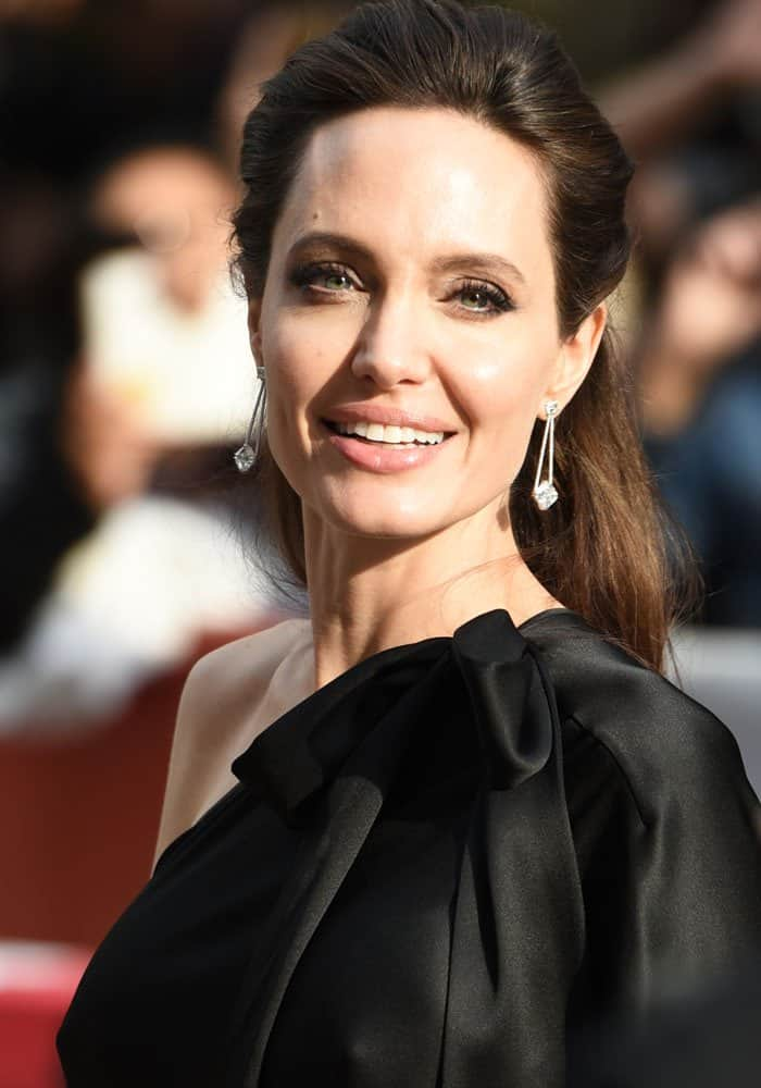 """Angelina Jolie at the42nd Toronto International Film Festival for the premiere of """"First They Killed my Father"""" in Toronto, Canada on September 11, 2017"""