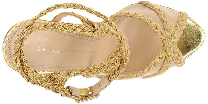 Charlotte Olympia Braided Sandals