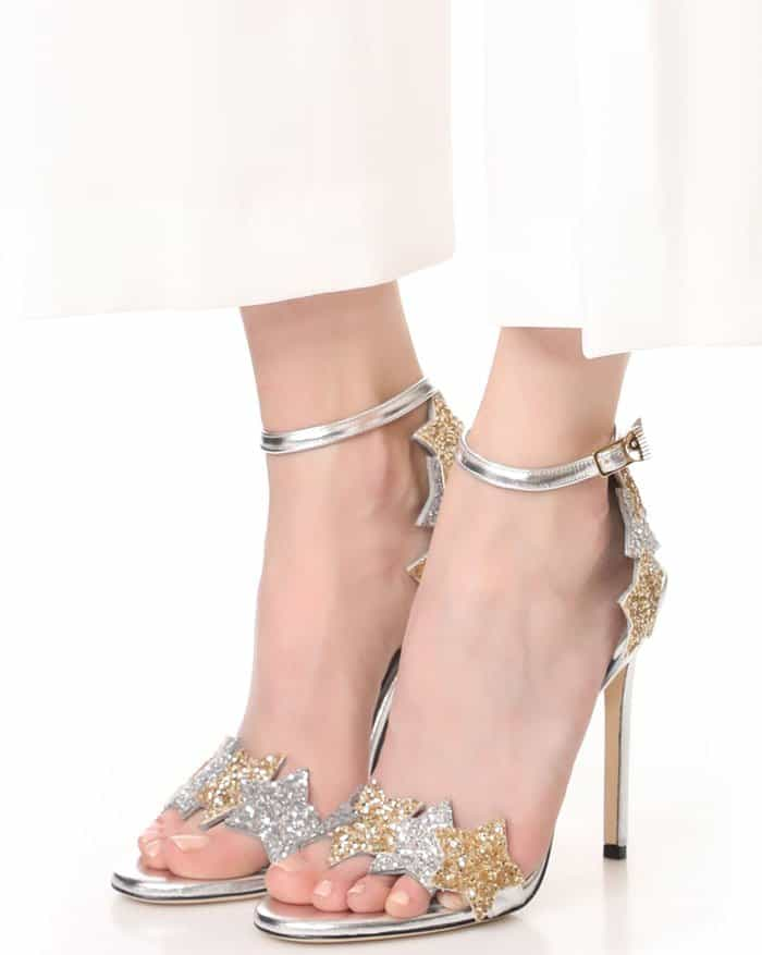 Chiara Ferragni Star Sandals