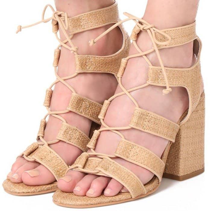 Dolce Vita 'Eva' Raffia Sandals