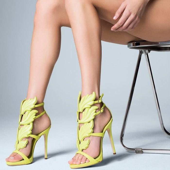 Giuseppe Zanotti 'Cruel' Wing High Heel Sandals