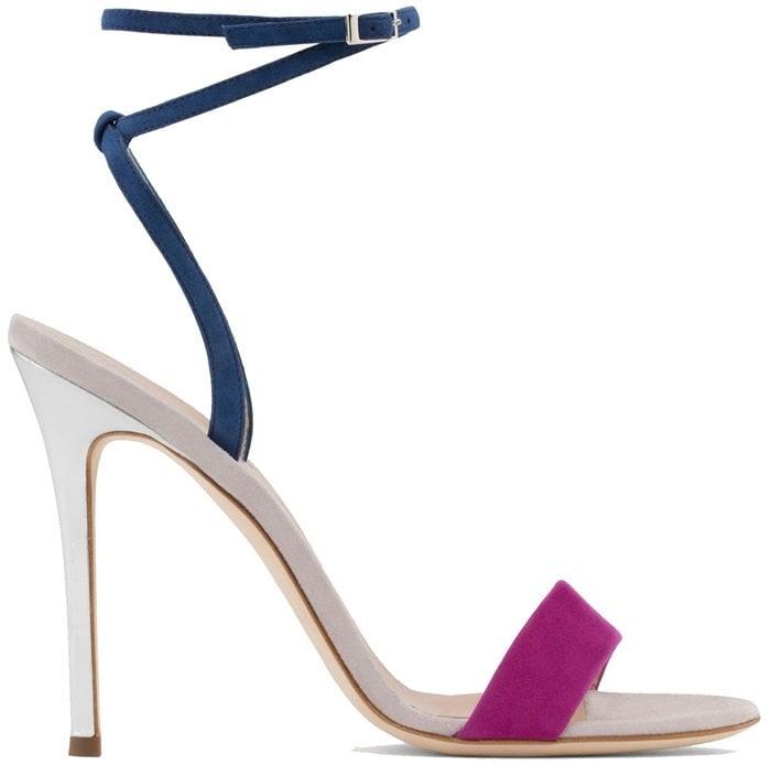 Giuseppe Zanotti 'Georgina' Colorblock Sandals