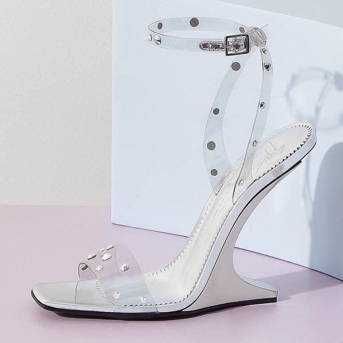 76bcd1a7794 Giuseppe Zanotti  Garconne  Crystal-Embellished PVC Sandals