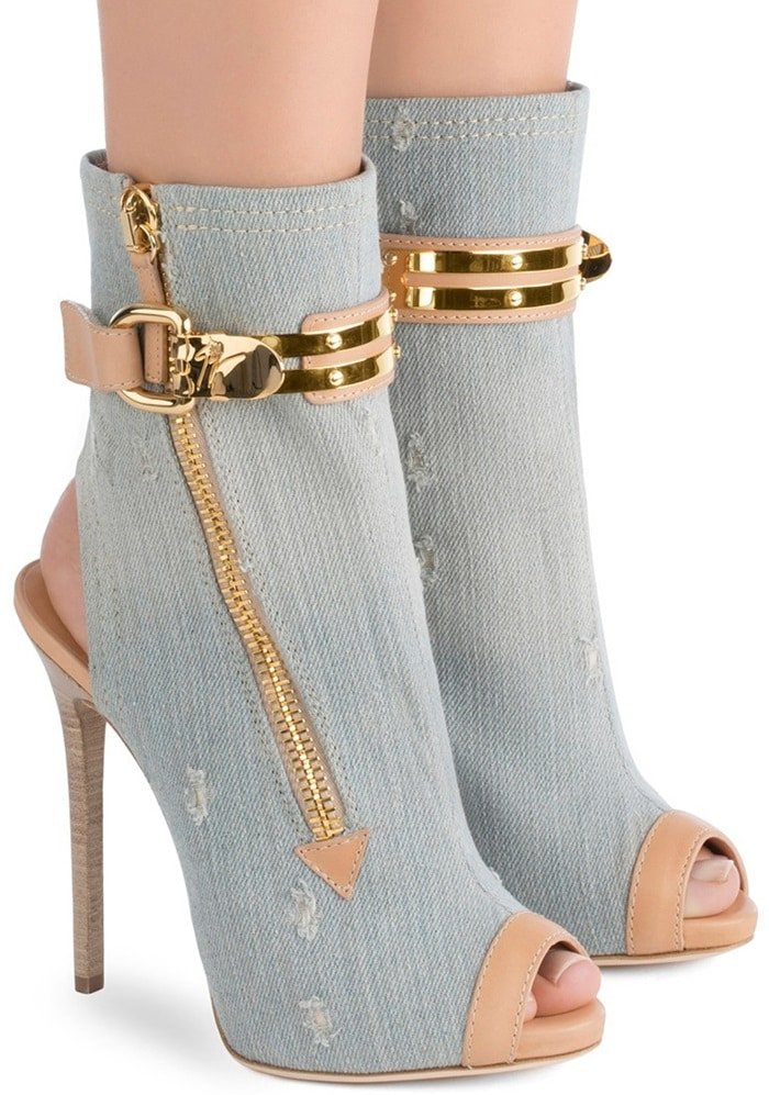 Giuseppe Zanotti 'Roxie' Gladiator Stiletto Heels