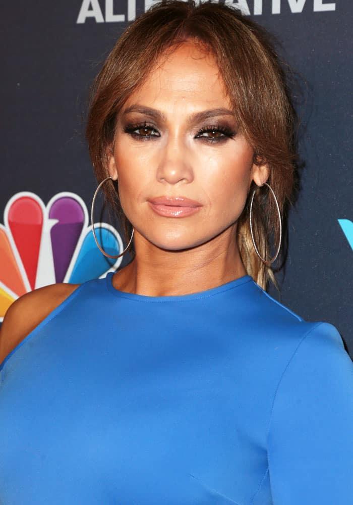 "Jennifer Lopez at the""World of Dance"" Celebration held at Delilah in West Hollywood, California on September 20, 2017"