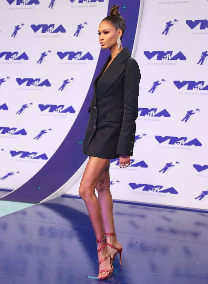 Joan Smalls towered over everyone at the 2017 MTV Video Music Awards