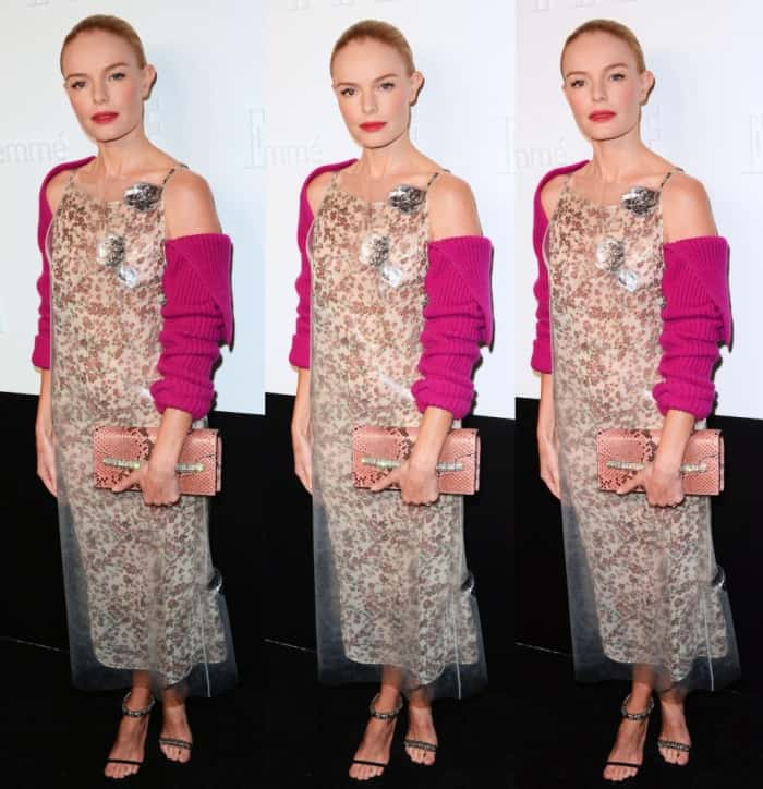 Kate Bosworth at the New York Fashion Week Kickoff Party hosted by E!, Elle and IMG in New York City on September 6, 2017