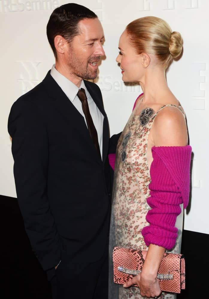 Kate Bosworth and husband Michael Polish side by side at the event