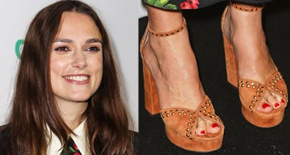 Keira knightley foot
