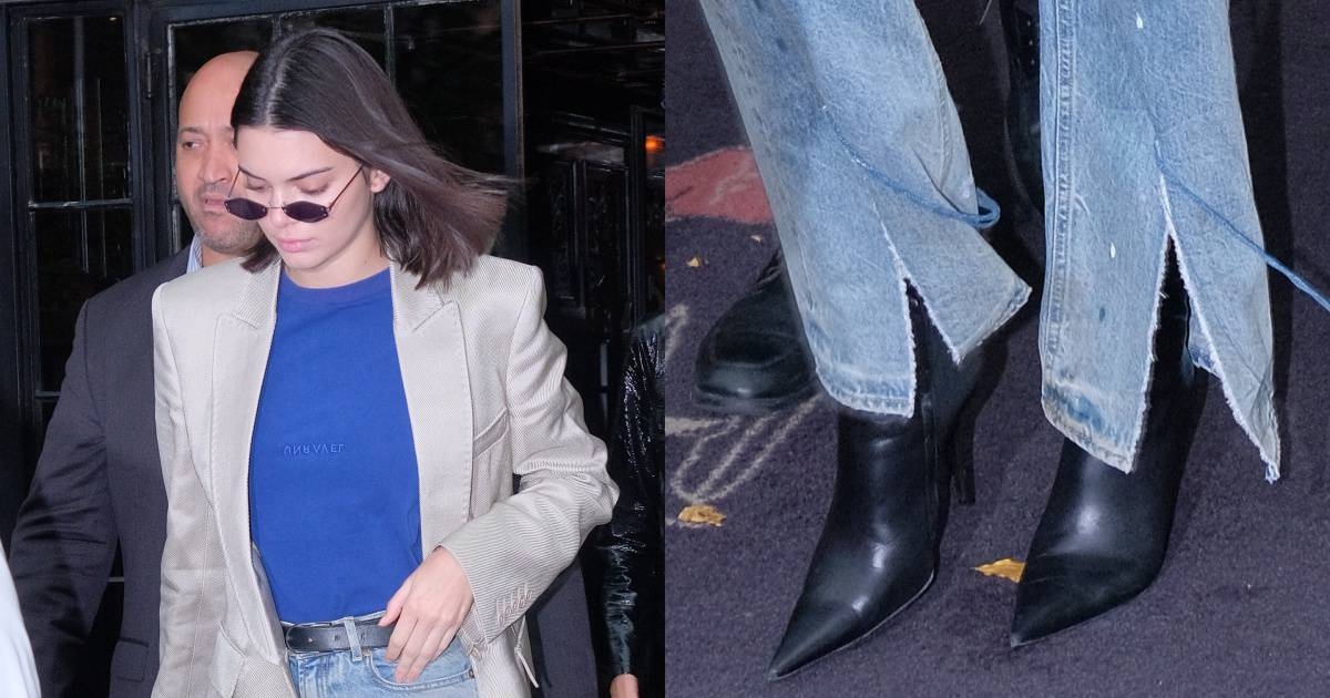 Kendall Jenner Struts Through New York In Balenciaga