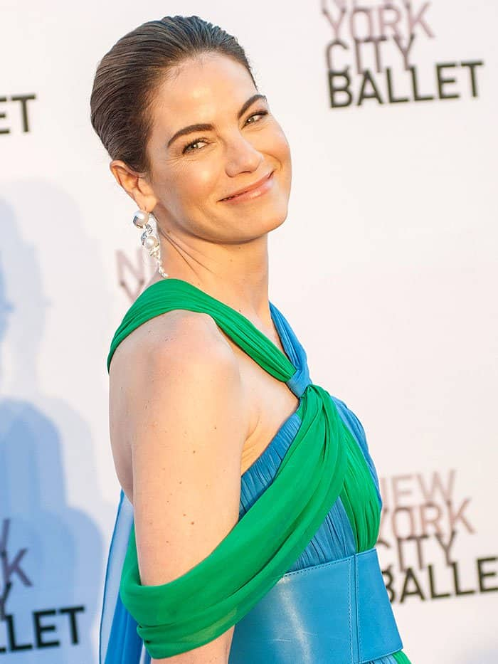 Michelle Monaghan at theNew York City Ballet's 2017 Fall Fashion Gala held at Lincoln Center in New York City on September 28, 2017.