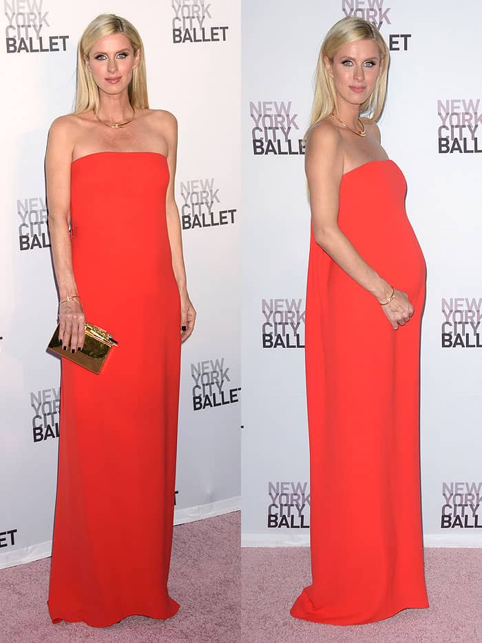 Nicky Hilton atthe New York City Ballet's 2017 Fall Fashion Gala held at Lincoln Center in New York City on September 28, 2017.