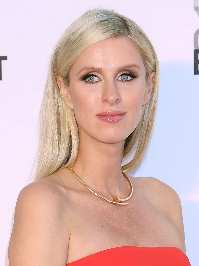 Nicky Hilton at the New York City Ballet's 2017 Fall Fashion Gala held at Lincoln Center in New York City on September 28, 2017.