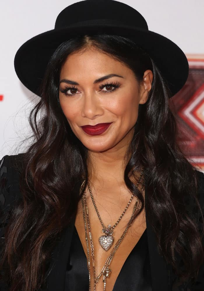 "Nicole Scherzinger at the ""X Factor"" launch held at the Picturehouse in London on August 30, 2017"