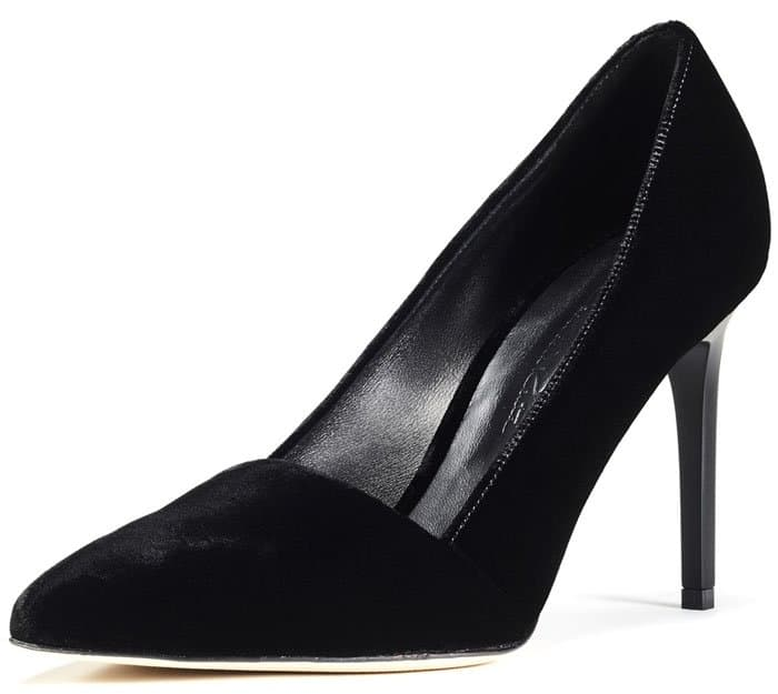 "Oscar de la Renta ""Vik"" Pointy-Toe Pumps"
