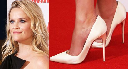 f9263c032b4a Reese Witherspoon Premieres  Home Again  in London in Christian Louboutin   So Kate  Pumps