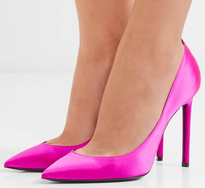 Saint Laurent Anja pumps in pink