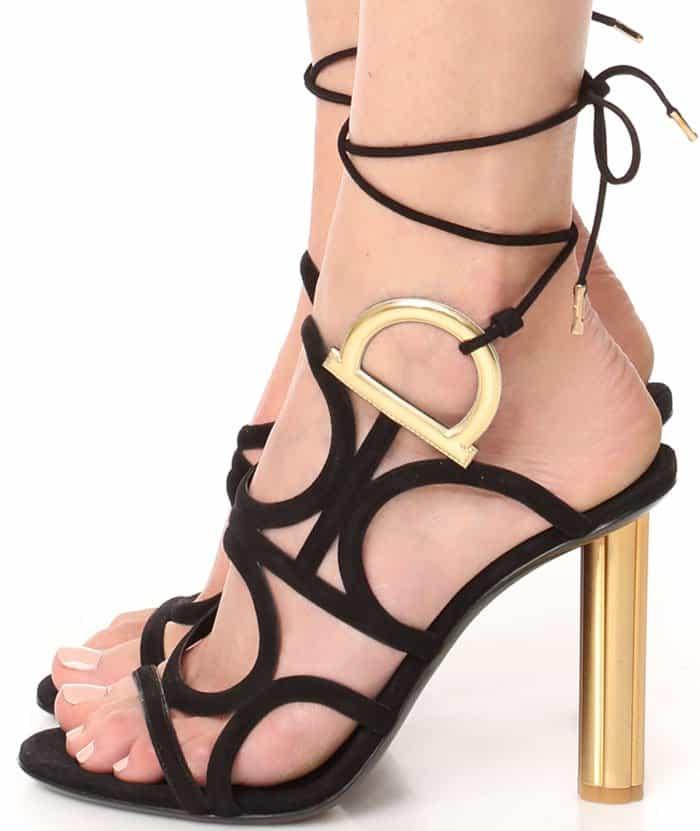 "Salvatore Ferragamo ""Vinci"" Wrap Sandals"