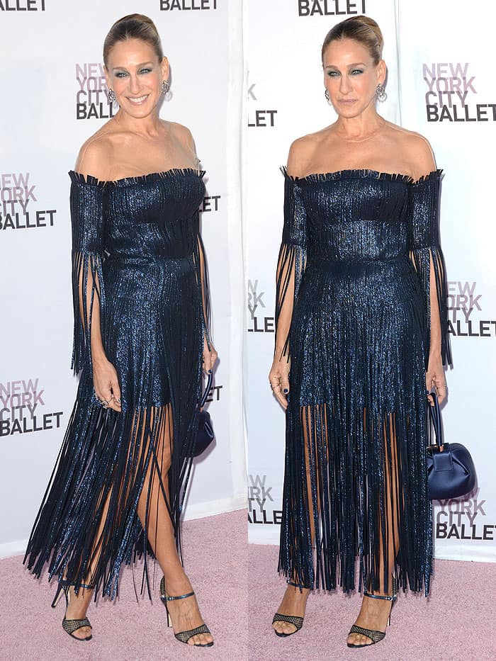 Sarah Jessica Parker attending the New York City Ballet's 2017 Fall Fashion Gala held at Lincoln Center in New York City on September 28, 2017.