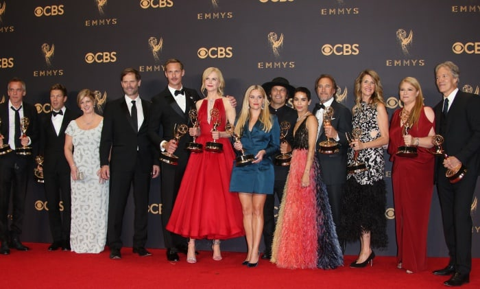 "The cast and crew of ""Big Little Lies"" at the 69th Emmy Awards"