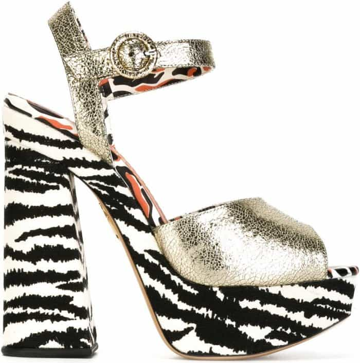 "Charlotte Olympia ""Wild at Heart"" sandals"