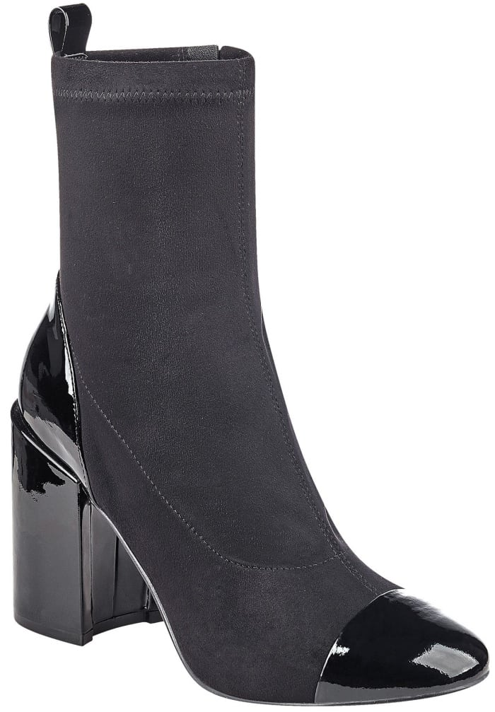 "Marc Fisher LTD ""Tache"" ankle boots in black suede"