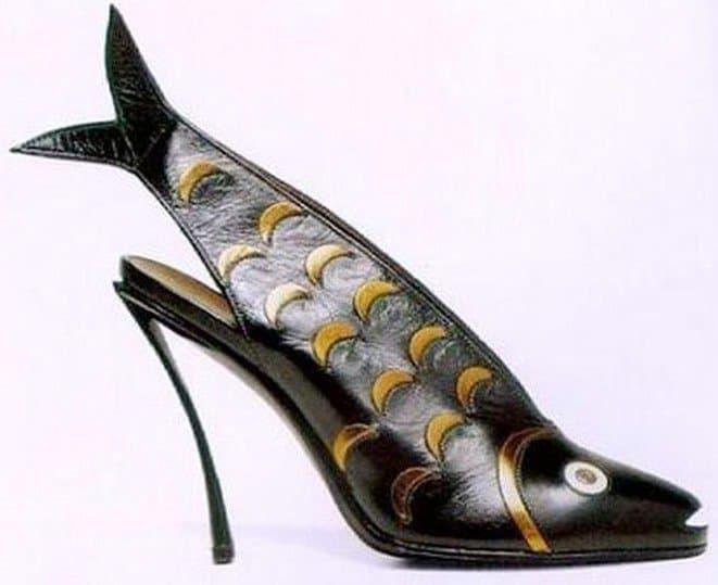 Andre Perugia Fish Shoe