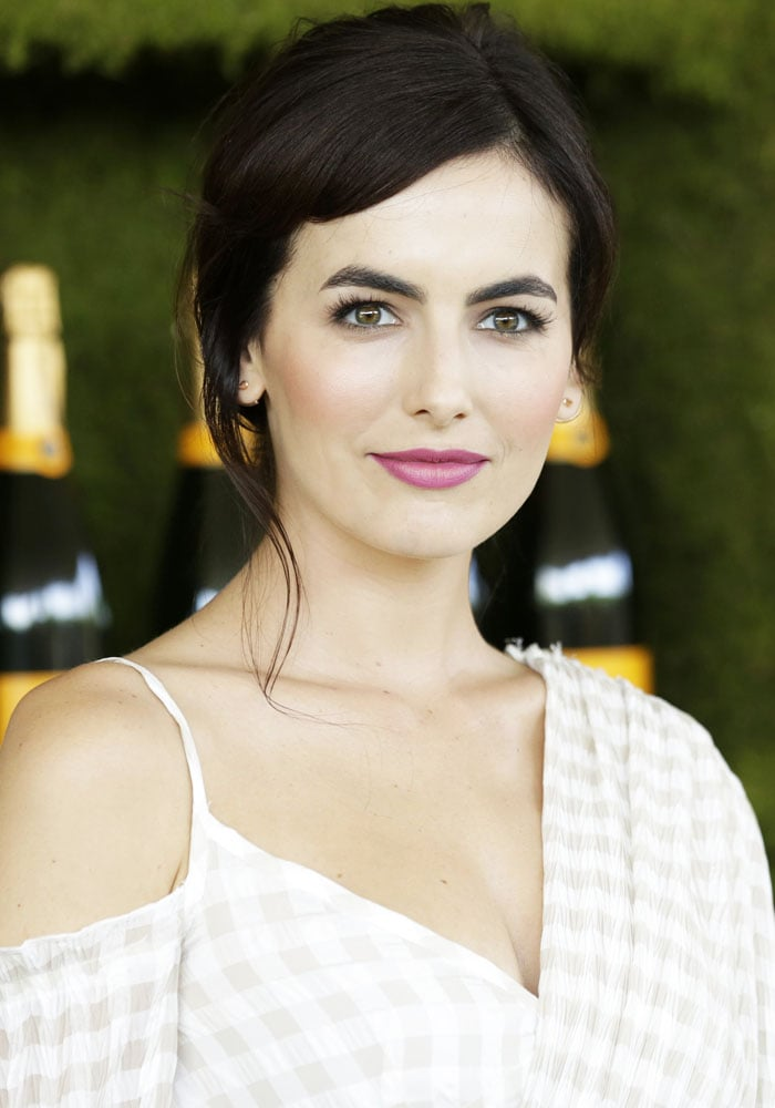 Camilla Belle attends the 8th Veuve Clicquot Polo Classic at Will Rogers State Historic Park in Los Angeles on October 15, 2017
