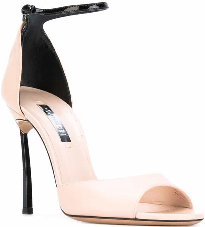 Casadei two tone sandals