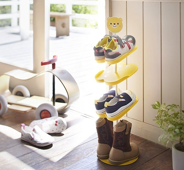 Shoe rack for children
