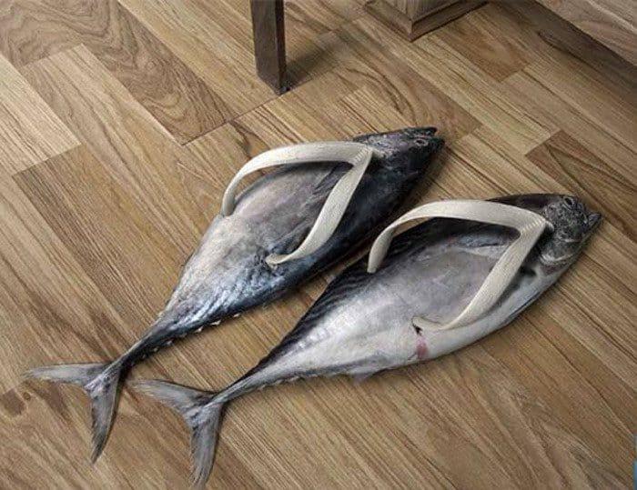 Flat Fish Flip-Flops