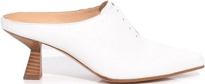 Gabriel Hearst Antoinette mules in optical white