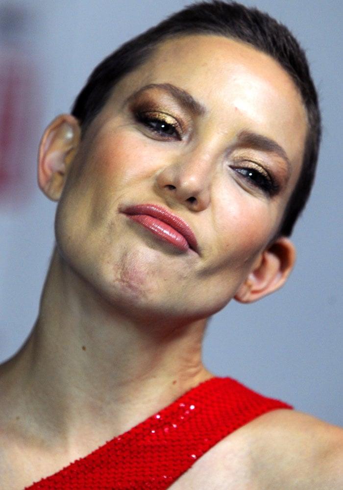 Kate rocks her shortest do ever since her Hollywood debut