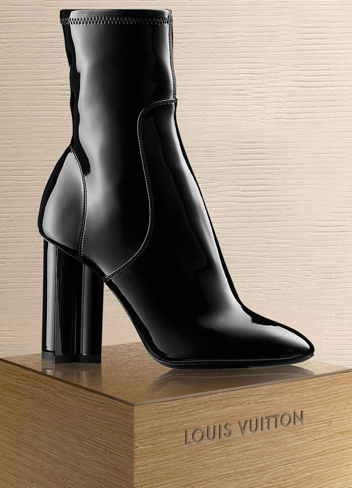 Louis Vuitton Silhouette ankle boots