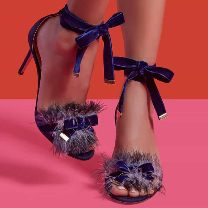Marion Parke 'Lainey' Feather Sandals