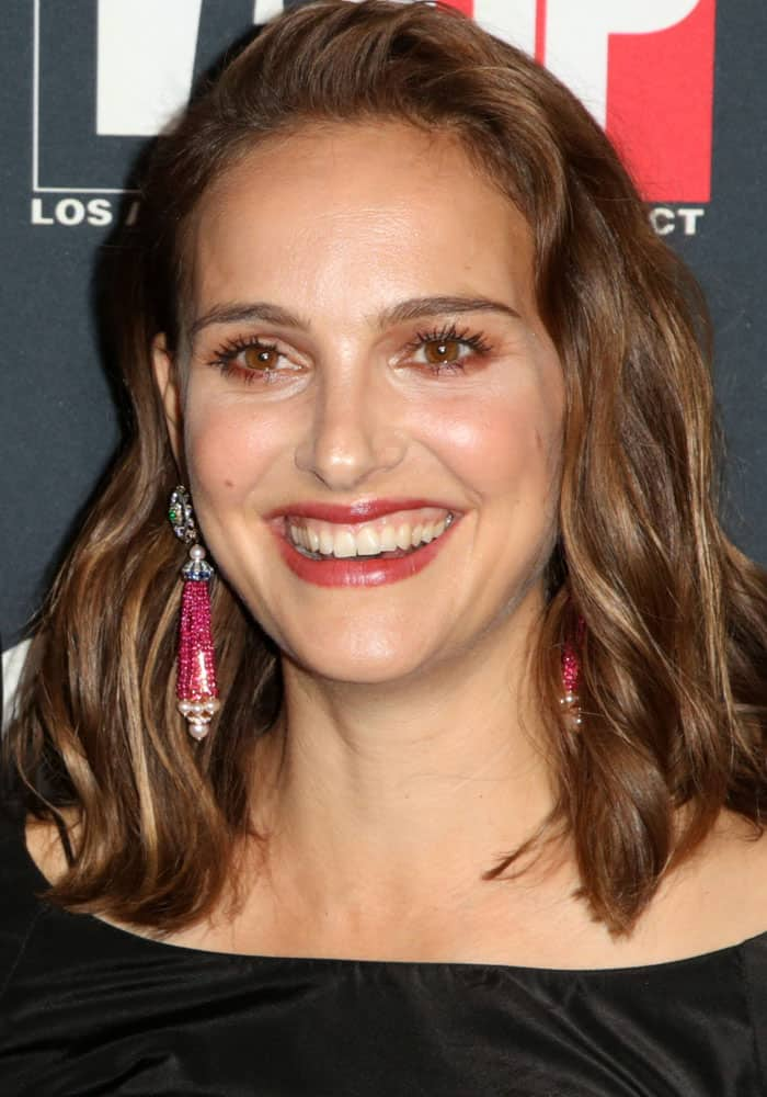 Natalie Portman attends L.A. Dance Project's annual gala in Los Angeles on October 7, 2017