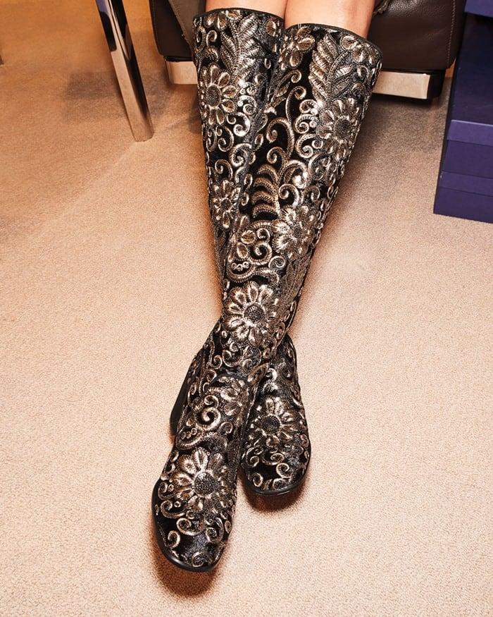 Stuart Weitzman Suburb Embellished Boot