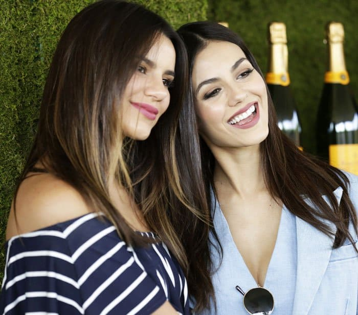 The actress shares the limelight with her sister, Madison Reed