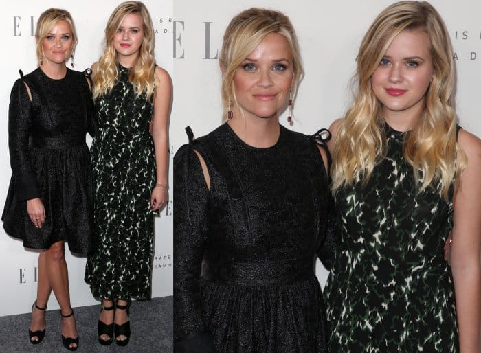 Reese Witherspoon and Ava Phillippe at Elle's 24th Annual Women in Hollywood Celebration