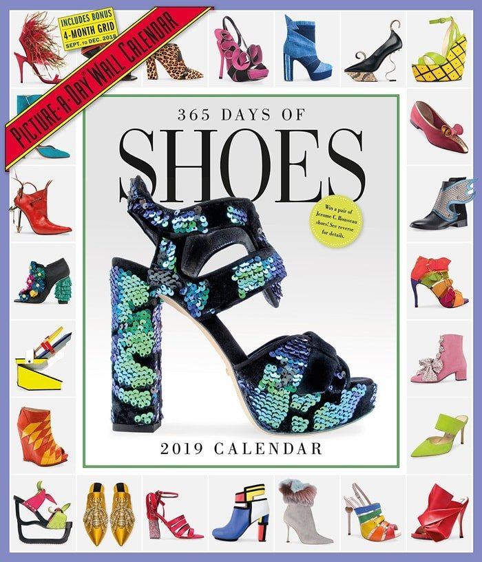 365 Days of Shoes Picture-A-Day Wall Calendar 2019