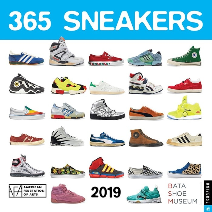 365 Sneakers 2019 Wall Calendar,