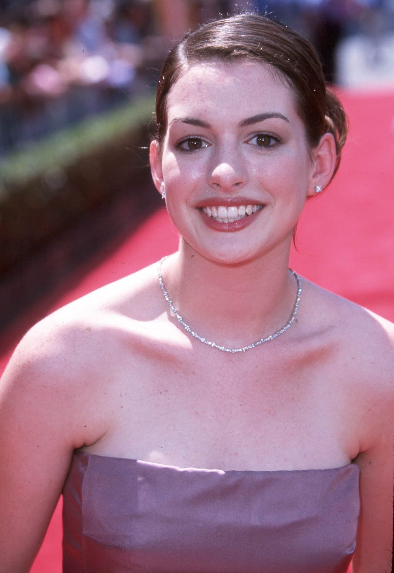 Anne Hathaway made her breakthrough as Mia Thermopolis in her debut film, the Disney comedy The Princess Diaries