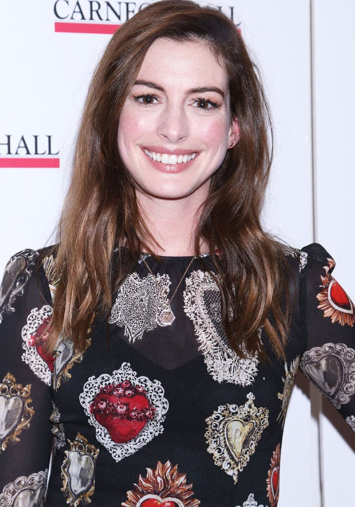 Anne at The Children's Monologues, a benefit for African-based creative arts charity Dramatic Need, held at Carnegie Hall in New York on November 14, 2017