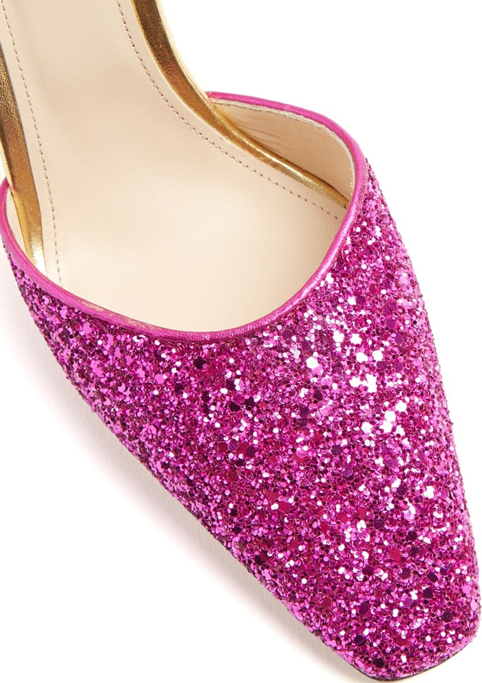 """Attico """"Diletta"""" Glitter Pumps"""