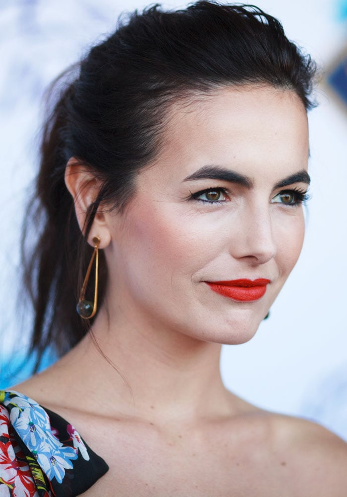 Camilla Belle at the 34th Breeders' Cup World Championship at Del Mar Thoroughbred Club in Del Mar, California on November 4, 2017