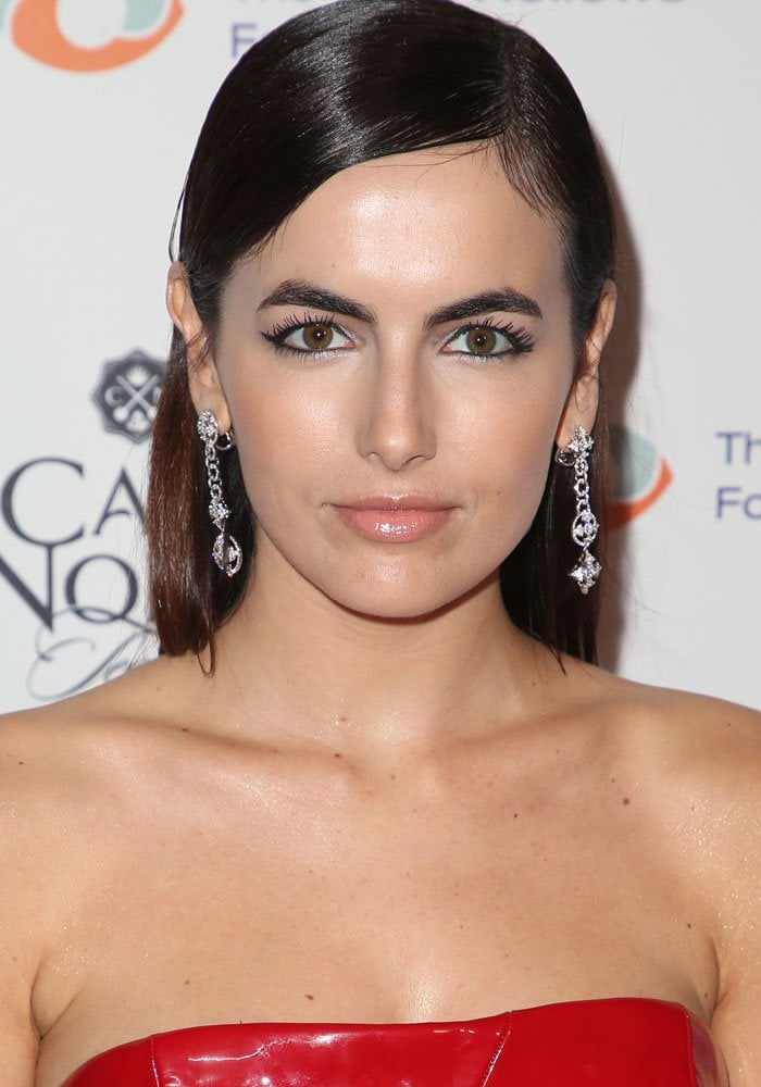 Camilla Belle at the Inaugural Fundraising Gala for The Fred Hollows Foundation in Hollywood of November 11, 2017