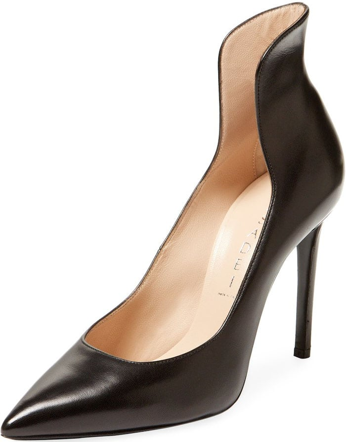 Casadei Leather High Heel Pump