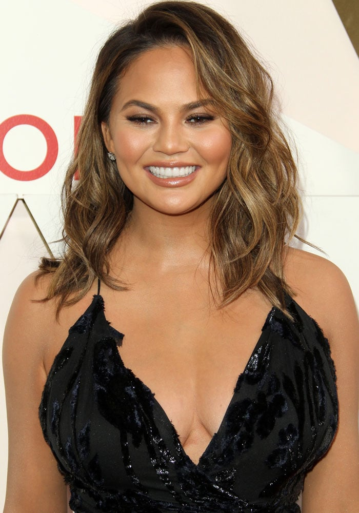 68ba4bac51 Chrissy Teigen at the  REVOLVE Awards held at The Dream Hotel in Hollywood